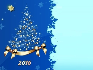 Поздравляем с Новым 2016 годом и Рождеством!