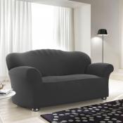 Чехол для двухместного дивана: «Джерси» цвет Черный жемчуг