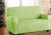 Чехол для трехместного дивана: «Микрофибра» цвет Зеленое яблоко