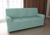 Чехол для трехместного дивана: «Модерн» цвет Малахит