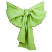 Декоративный бант (лента): «Микрофибра» цвет Зеленое яблоко